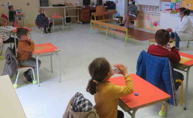 Ecole a distance maternelle