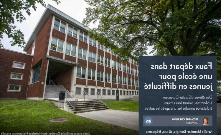 Ecole adulte a distance montreal